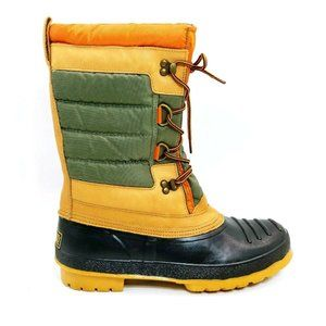 Lands End Mens Nylon Shearling Duck Boot 12D NEW